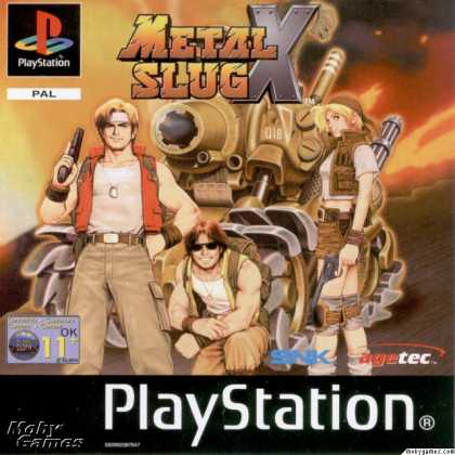 PlayStation Games - Metal Slug X: Super Vehicle - 001