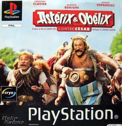 PlayStation Games - Asterix and Obelix Take on Caesar