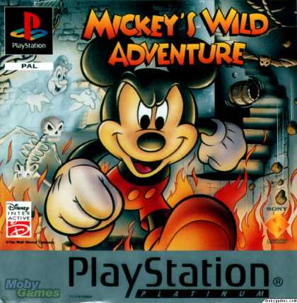PlayStation Games - Mickey Mania