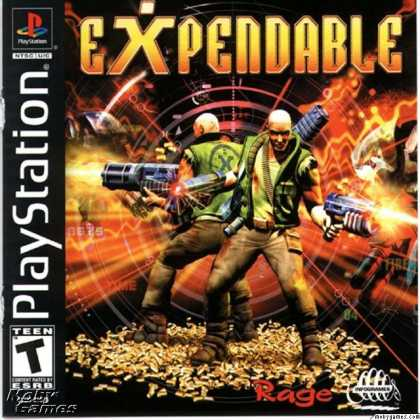 PlayStation Games - Millennium Soldier: Expendable