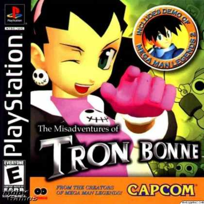 PlayStation Games - The Misadventures of Tron Bonne