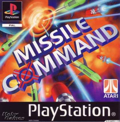 PlayStation Games - Missile Command
