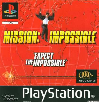 PlayStation Games - Mission: Impossible