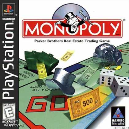 PlayStation Games - Monopoly