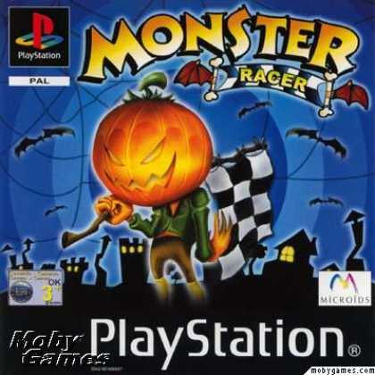 PlayStation Games - Monster Racer