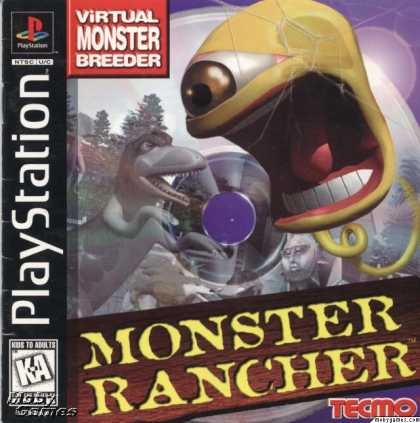 PlayStation Games - Monster Rancher