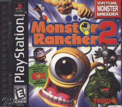 PlayStation Games - Monster Rancher 2