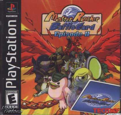 PlayStation Games - Monster Rancher Battle Card Episode II