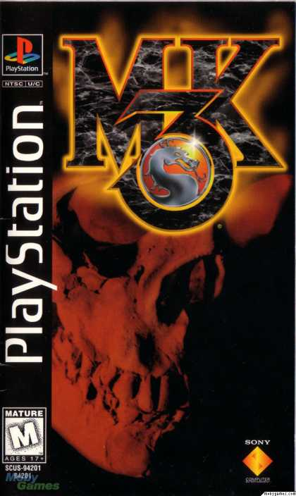 PlayStation Games - Mortal Kombat 3