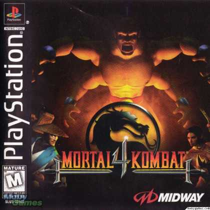PlayStation Games - Mortal Kombat 4