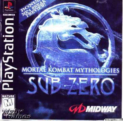 PlayStation Games - Mortal Kombat Mythologies: Sub-Zero