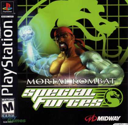 PlayStation Games - Mortal Kombat: Special Forces