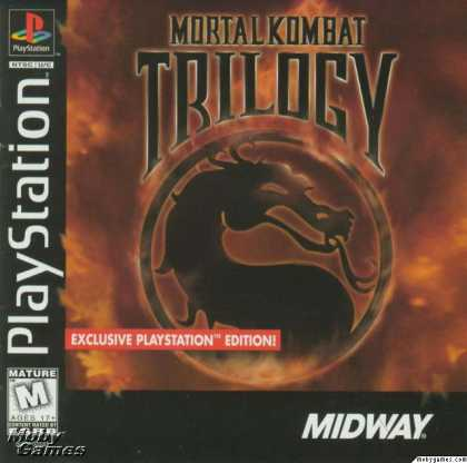 PlayStation Games - Mortal Kombat Trilogy
