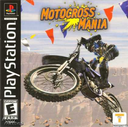 PlayStation Games - Motocross Mania