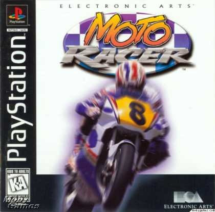 PlayStation Games - Moto Racer