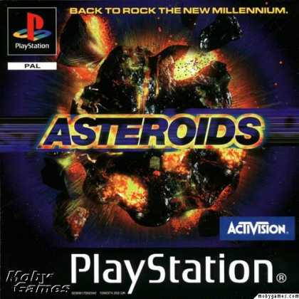 PlayStation Games - Asteroids