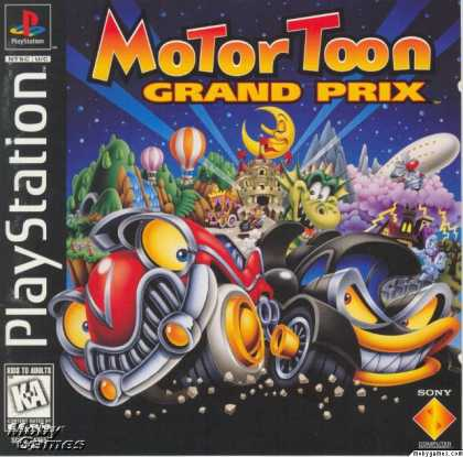 PlayStation Games - Motor Toon Grand Prix