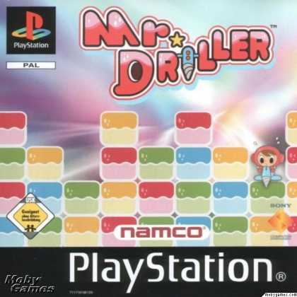 PlayStation Games - Mr. Driller