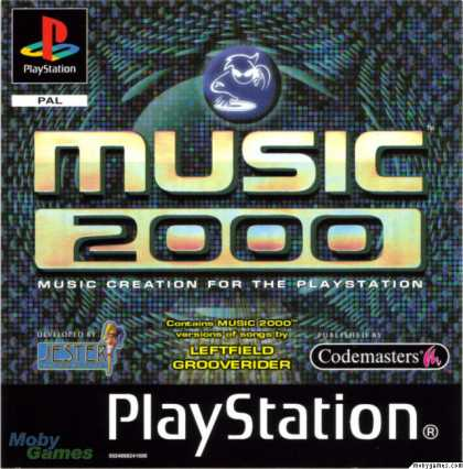 PlayStation Games - MTV: Music Generator