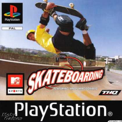 PlayStation Games - MTV Sports: Skateboarding