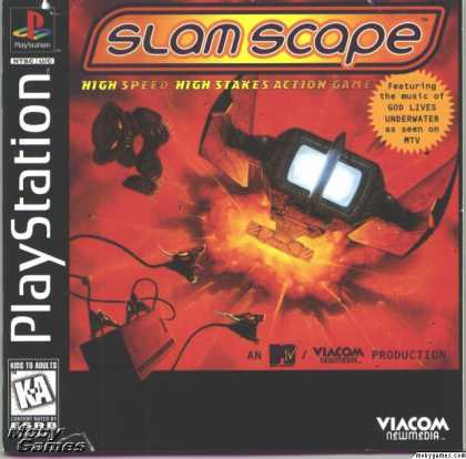 PlayStation Games - MTV's Slamscape