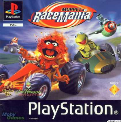 PlayStation Games - Muppet RaceMania