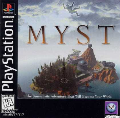 PlayStation Games - Myst