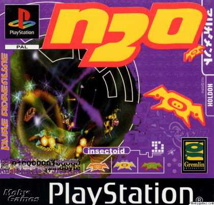 PlayStation Games - N2O Nitrous Oxide
