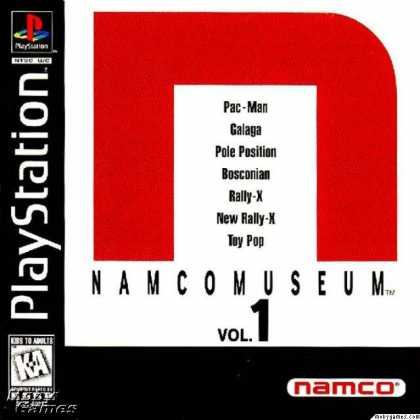 PlayStation Games - Namco Museum Vol. 1