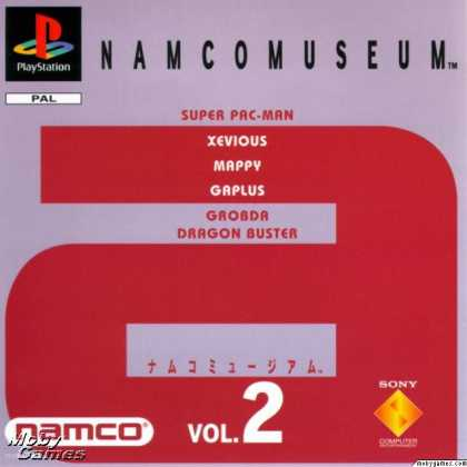PlayStation Games - Namco Museum Vol. 2