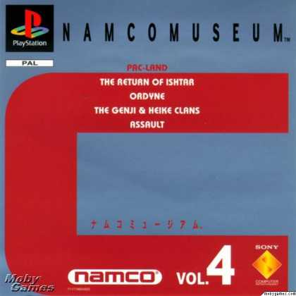 PlayStation Games - Namco Museum Vol. 4