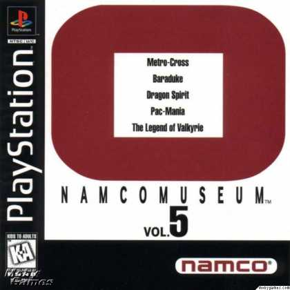 PlayStation Games - Namco Museum Vol. 5