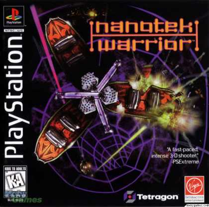 PlayStation Games - NanoTek Warrior