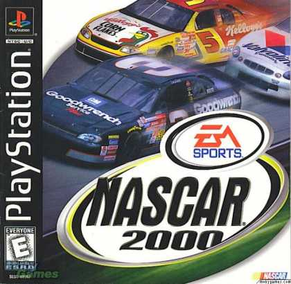 PlayStation Games - NASCAR 2000