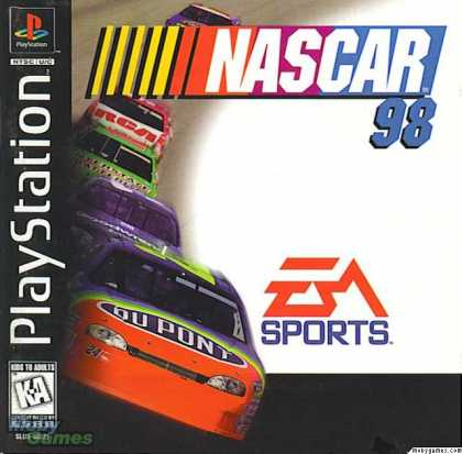PlayStation Games - NASCAR 98