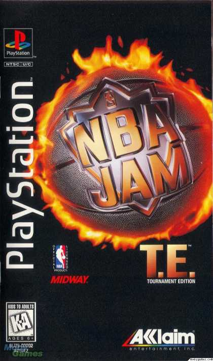 PlayStation Games - NBA Jam Tournament Edition
