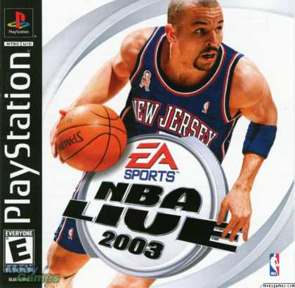 PlayStation Games - NBA Live 2003