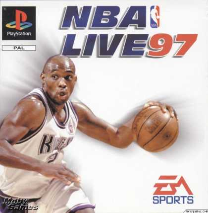 PlayStation Games - NBA Live 97