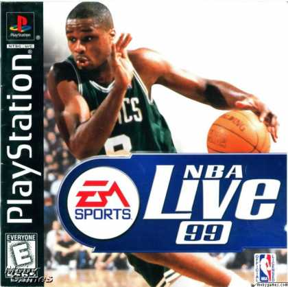 PlayStation Games - NBA Live 99