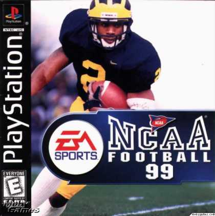 PlayStation Games - NCAA Football 99