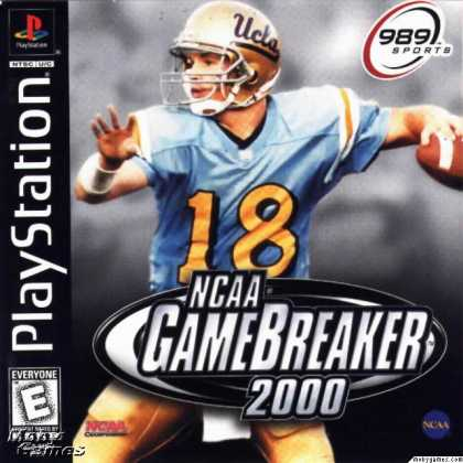 PlayStation Games - NCAA GameBreaker 2000