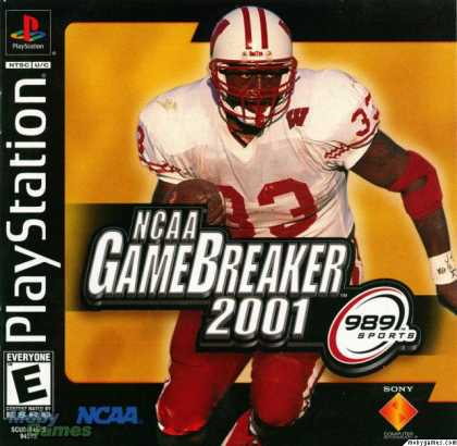 PlayStation Games - NCAA GameBreaker 2001