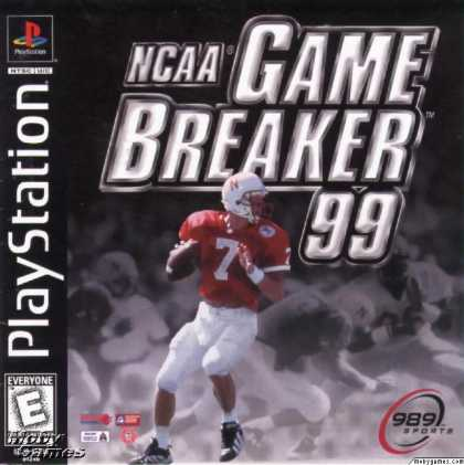 PlayStation Games - NCAA GameBreaker 99