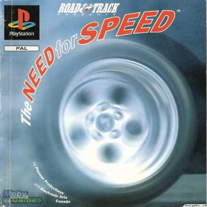 PlayStation Games - The Need for Speed
