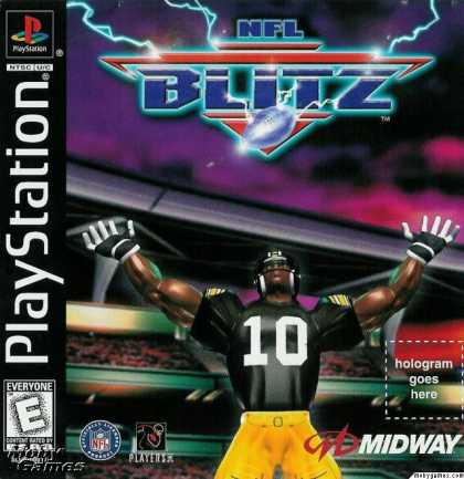 PlayStation Games - NFL Blitz
