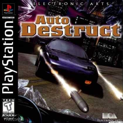PlayStation Games - Auto Destruct