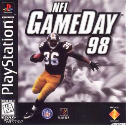 PlayStation Games - NFL GameDay '98