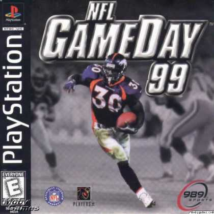 PlayStation Games - NFL GameDay '99
