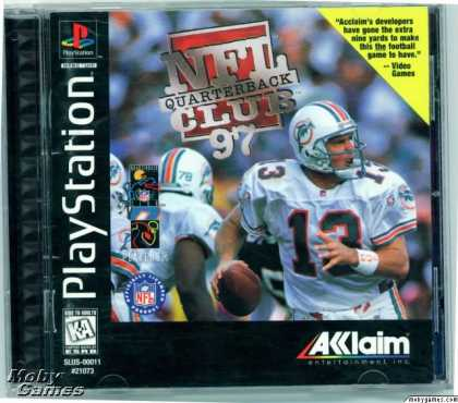 PlayStation Games - NFL Quarterback Club 97
