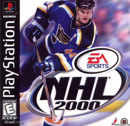 PlayStation Games - NHL 2000